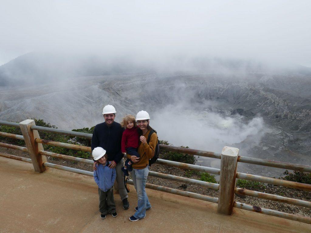 Visite Poas en famille 1024x768 Costa Rica, première semaine en Slow travel