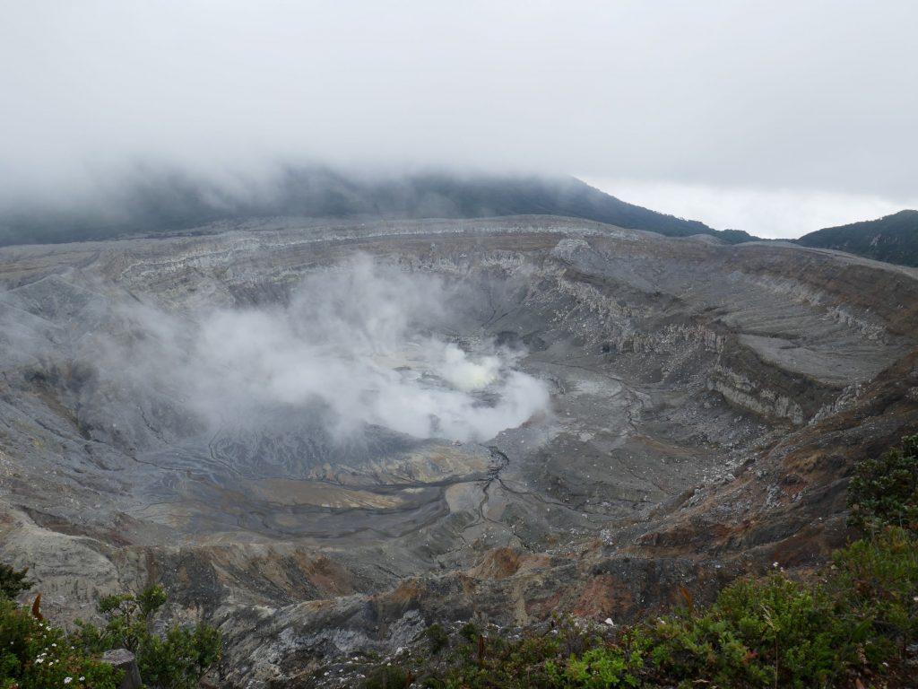 Volcan Poas visite 1024x768 Costa Rica, première semaine en Slow travel
