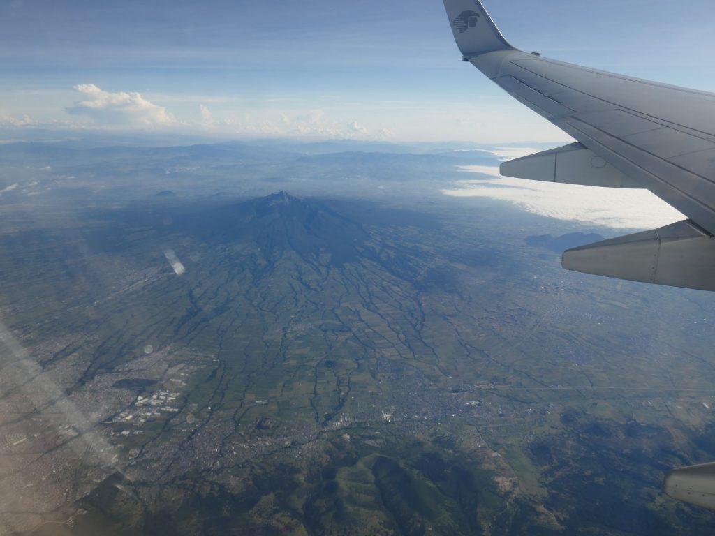 Vue avion Costa Rica 1024x768 Costa Rica, première semaine en Slow travel