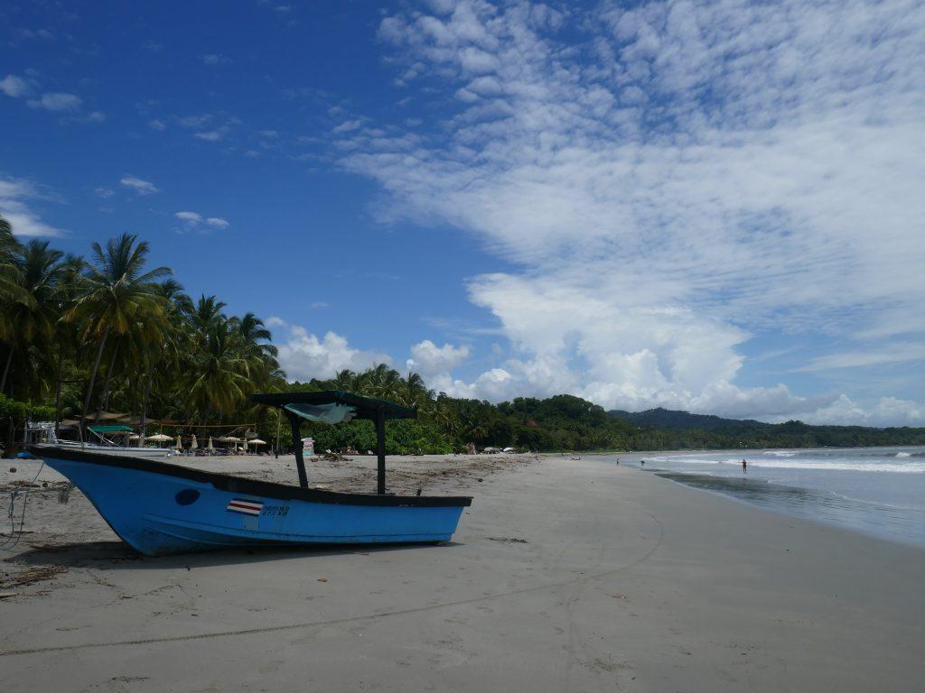 bateau plage samara 1024x768 Costa Rica : A la découverte des animaux sauvages