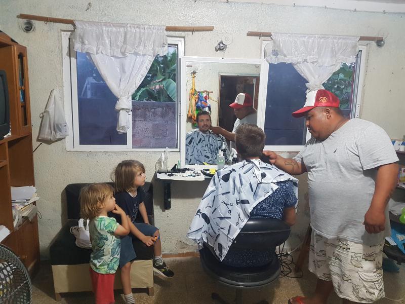 Photos yucatan rio lagartos barber 2 Le blog du voyage en famille