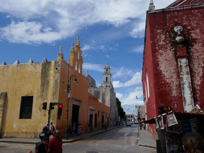 Photos yucatan rue merida Le blog du voyage en famille
