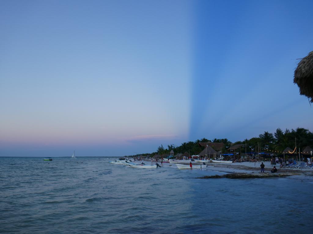 coucher soleil holbox Holbox, paradis en demi teinte