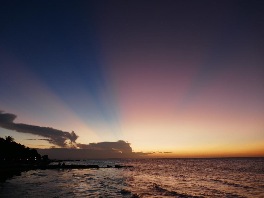 holbox coucher soleil