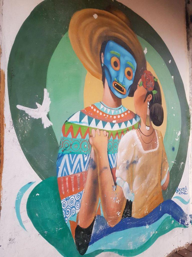 street art holbox maison 768x1024 Holbox, paradis en demi teinte