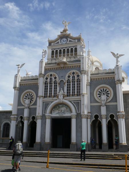 Cathédrale Cartago Back in Costa Rica : Volcan Irazu et la vallée d'Orosi !