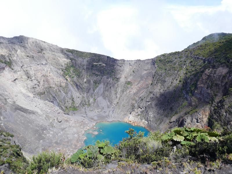 Cratére Irazu Back in Costa Rica : Volcan Irazu et la vallée d'Orosi !