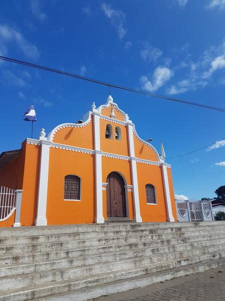 Eglise de Catarina Dormir à Masaya la chaleureuse