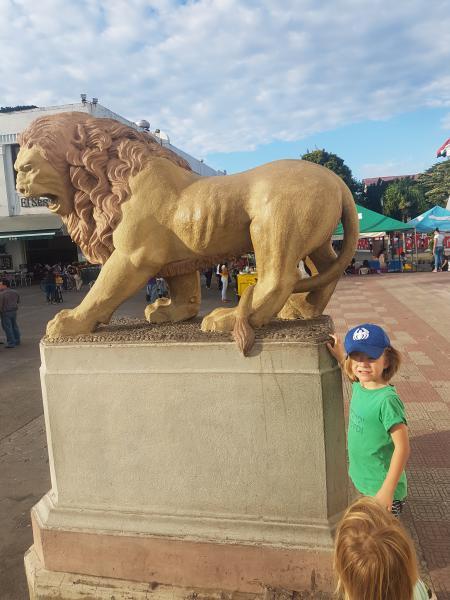 Léon lion Leon Léon à León