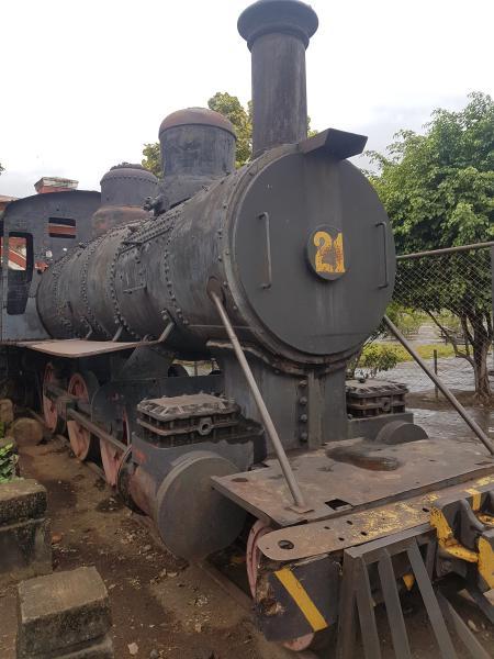 Musée train Granada Granada explosion de couleurs