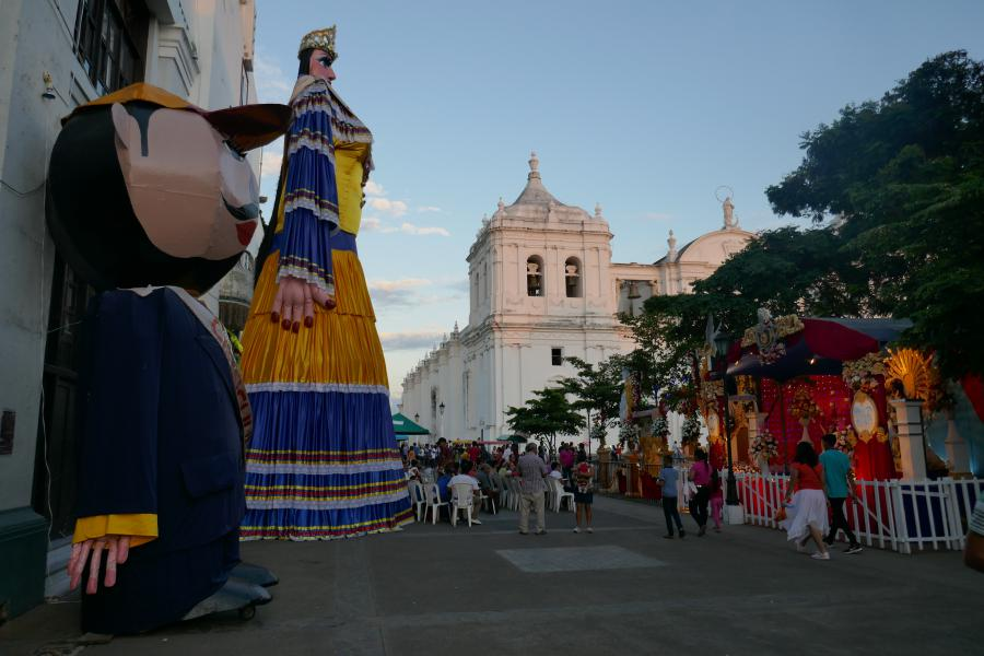 Palce Leon Nicaragua Léon à León