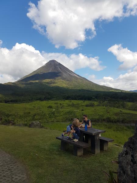 Rando volcan Arenal La Fortuna, au pied du Volcan