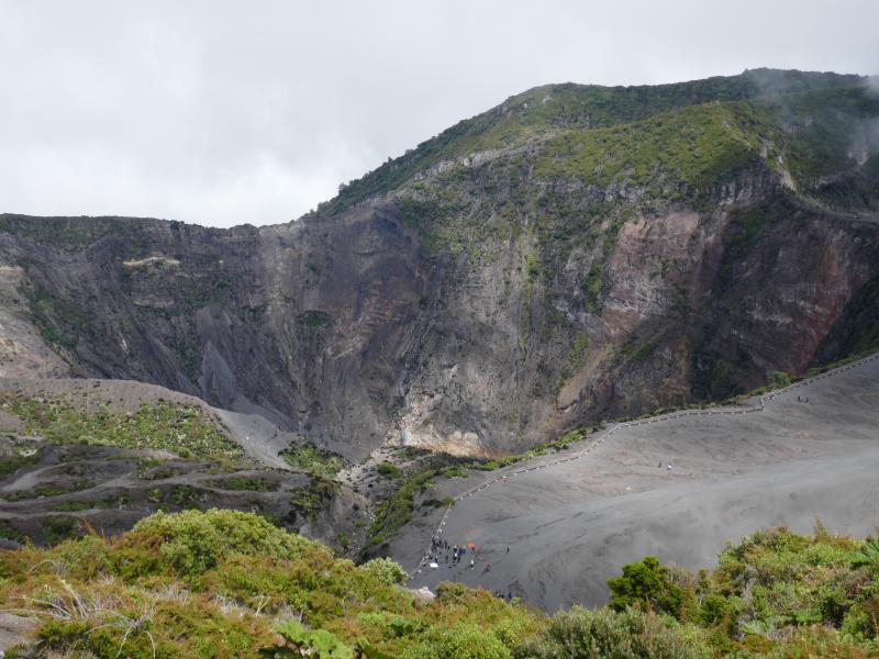 Volca Irazu Back in Costa Rica : Volcan Irazu et la vallée d'Orosi !