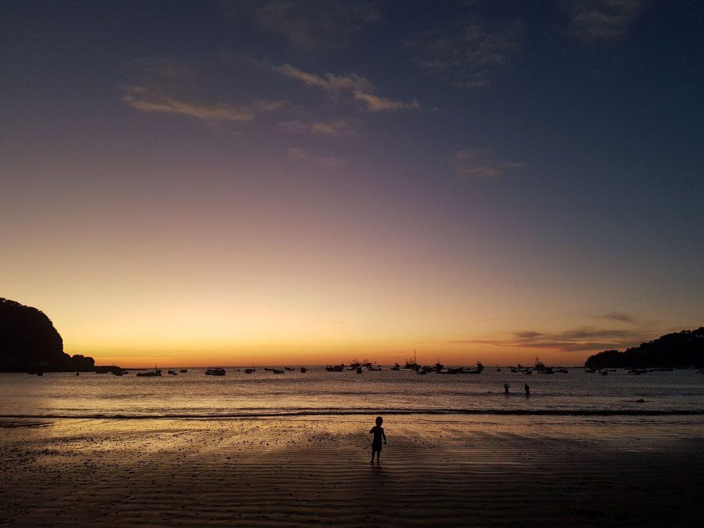 coucher soleil san juan del sur 1024x768 San Juan Del Sur, nos premiers pas au Nicaragua