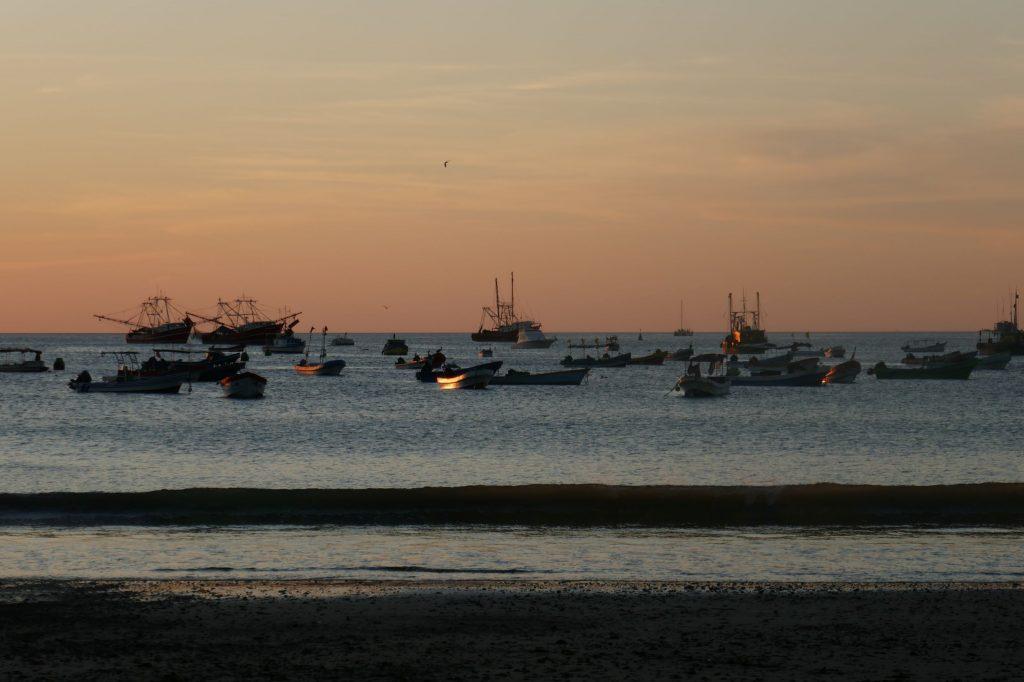 soiree san juan del sur 1024x682 San Juan Del Sur, nos premiers pas au Nicaragua