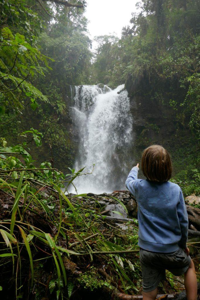 cascade boquete 682x1024 A la découverte de la jungle du Panama