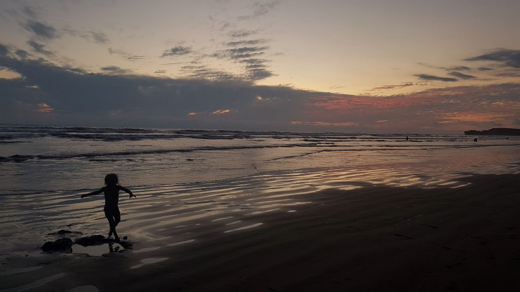 danse plage pacifique 1024x576 A la rencontre des baleines du Costa Rica